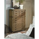 Legacy Classic Metalworks Drawer Chest with Fully Finished Dovetail Drawers