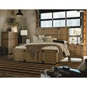 Legacy Classic Metalworks Queen Complete Panel Bed - Item Shown May Not Represent Size Indicated