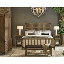 Legacy Classic Metalworks King Complete Wood Gate Bed