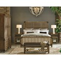 Legacy Classic Metalworks California King Complete Wood Gate Bed - Item Shown May Not Represent Size Indicated