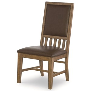 Legacy Classic Metalworks Upholstered Back Side Chair