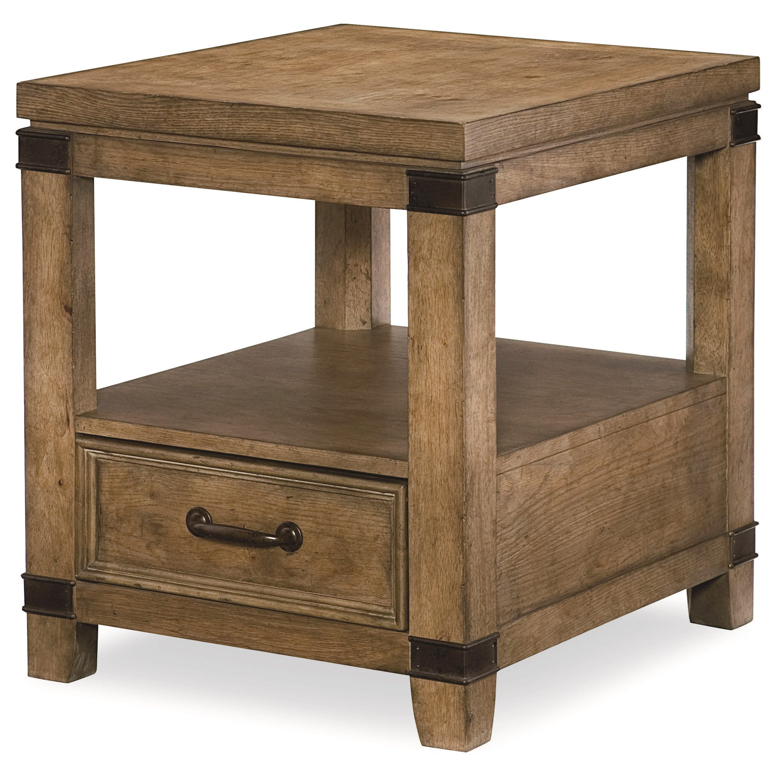 Legacy Classic Metalworks End Table  - Item Number: 5610-504