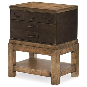 Legacy Classic Metalworks Toolbox End Table