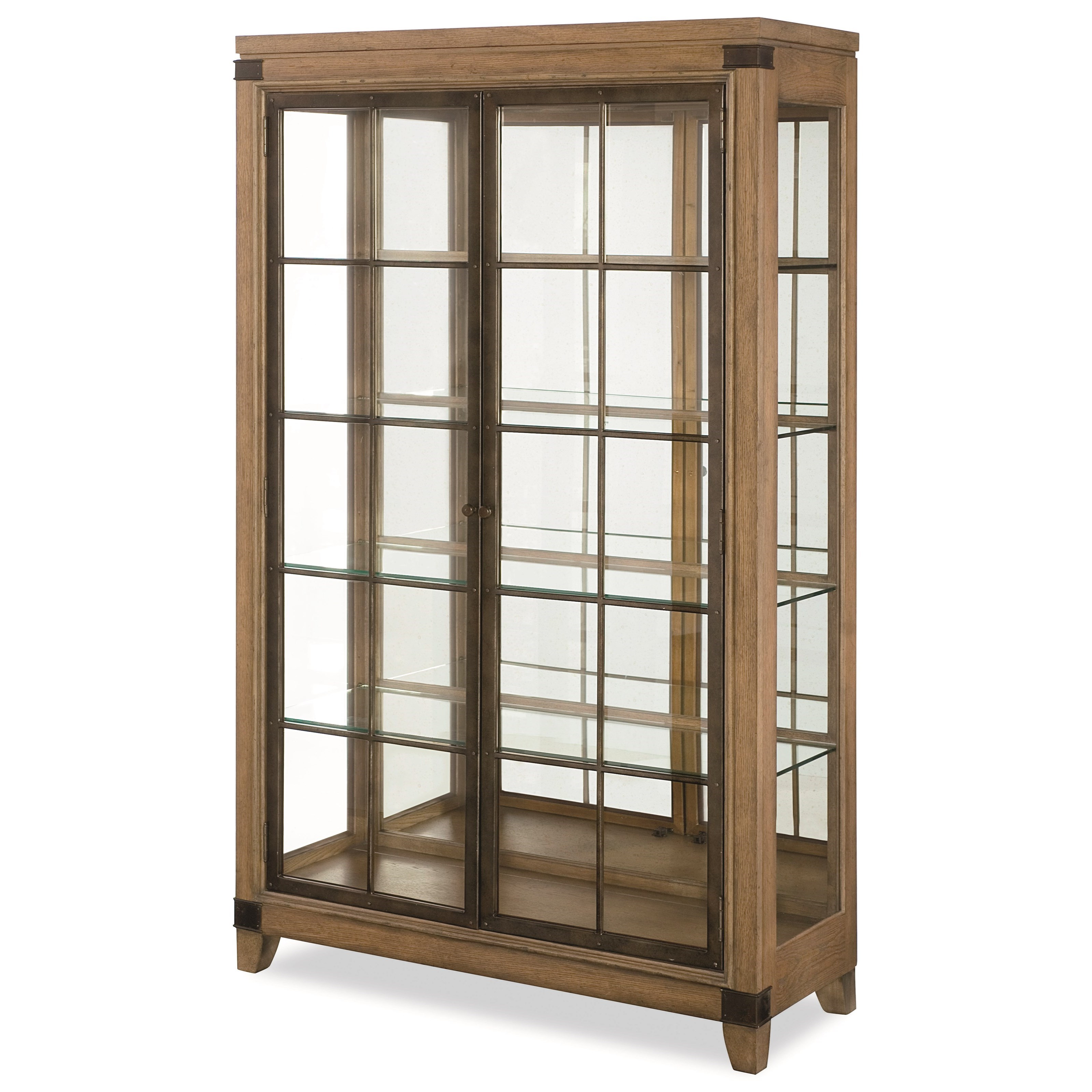 Legacy Classic Metalworks Bunching Display Cabinet  - Item Number: 5610-570
