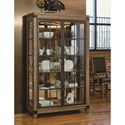Legacy Classic Metalworks Bunching Display Cabinet with 3-Way Touch Lighting