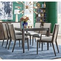 Legacy Classic Paldao 7-Piece Rectangular Table and Chair Set