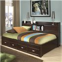 Legacy Classic Kids Park City Twin Size Study Lounge Bed - Item Number: 9980-5503K
