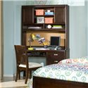 Legacy Classic Kids Park City Computer Desk - Shown with Optional Desk Hutch and Upholstered Desk Chair