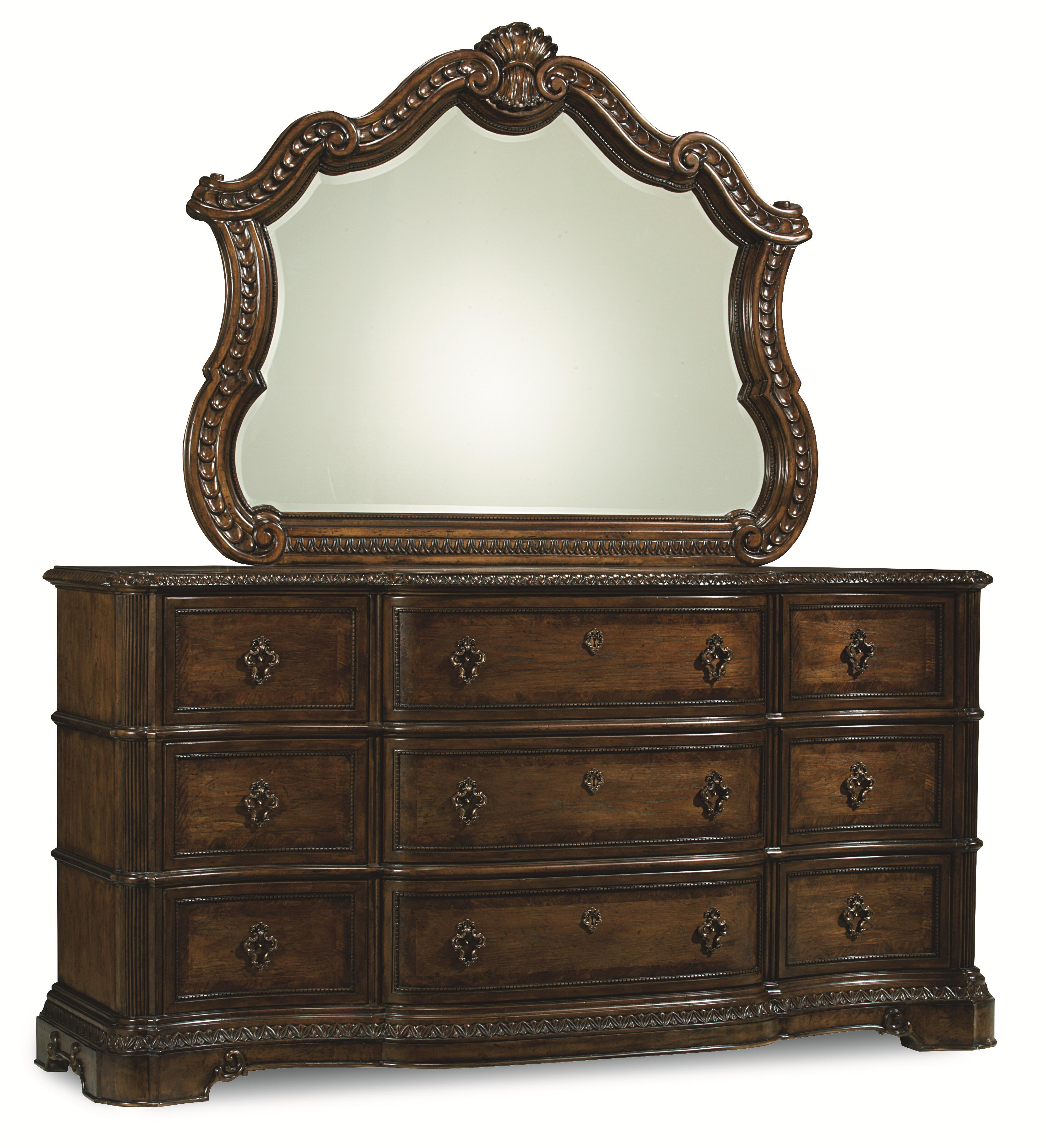 Legacy Classic Pemberleigh Dresser and Mirror Set - Item Number: 3100-1200+0100