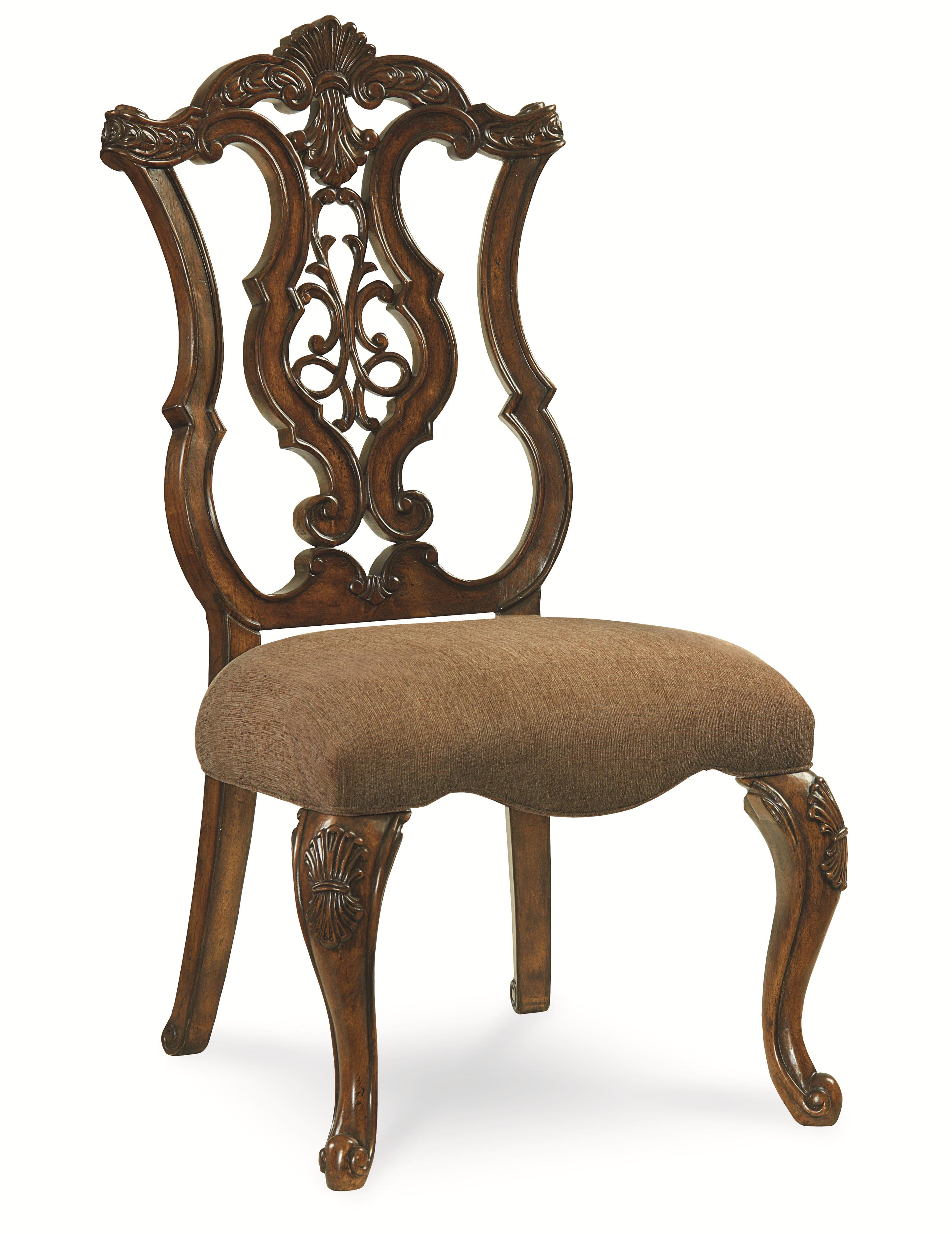Legacy Classic Pemberleigh Pierced Back Side Chair - Item Number: 3100-140 KD