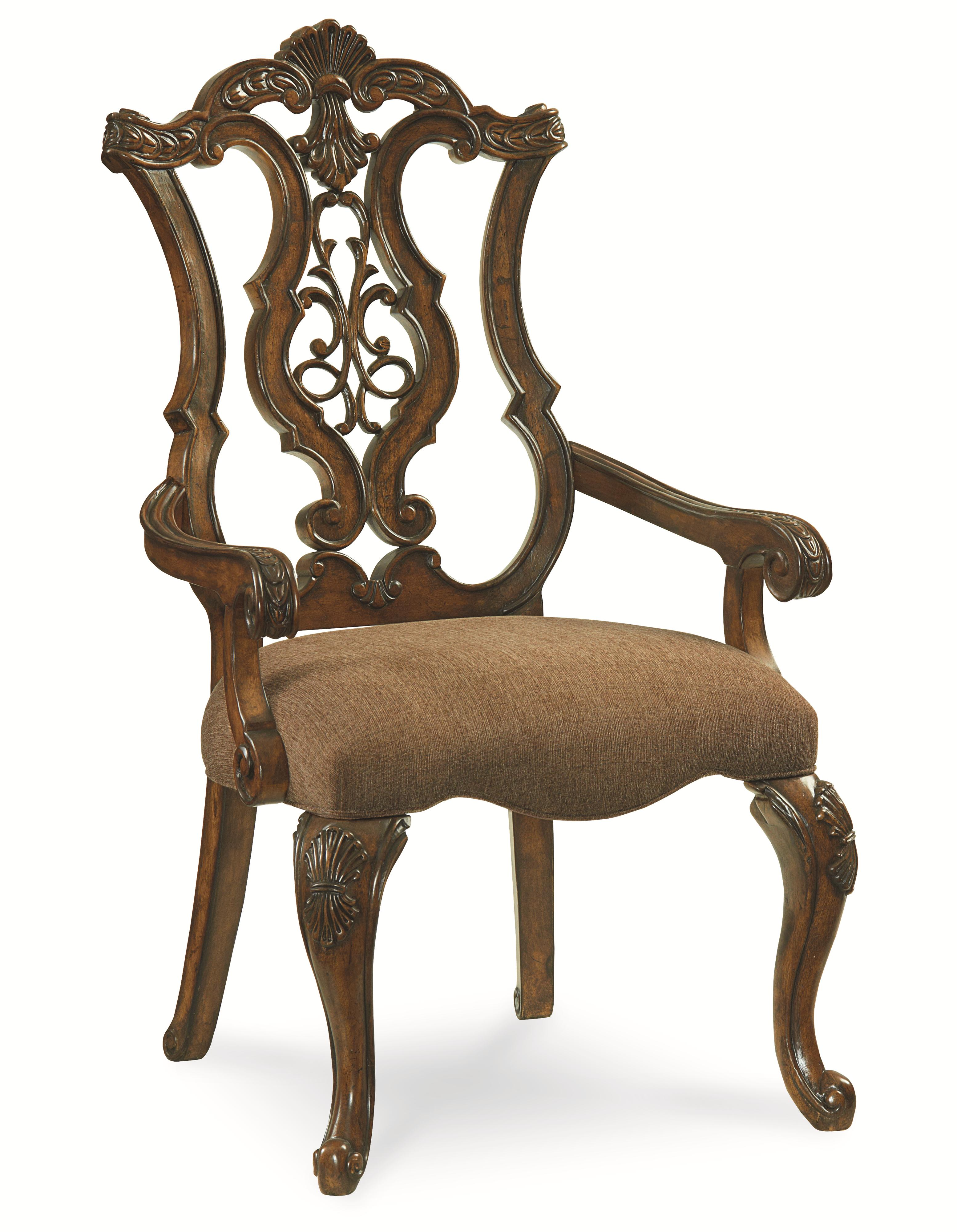 Legacy Classic Pemberleigh Pierced Back Arm Chair - Item Number: 3100-141 KD