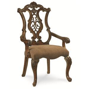 Legacy Classic Pemberleigh Pierced Back Arm Chair