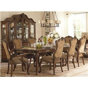 Legacy Classic Pemberleigh 9 Piece Table and Chairs Set