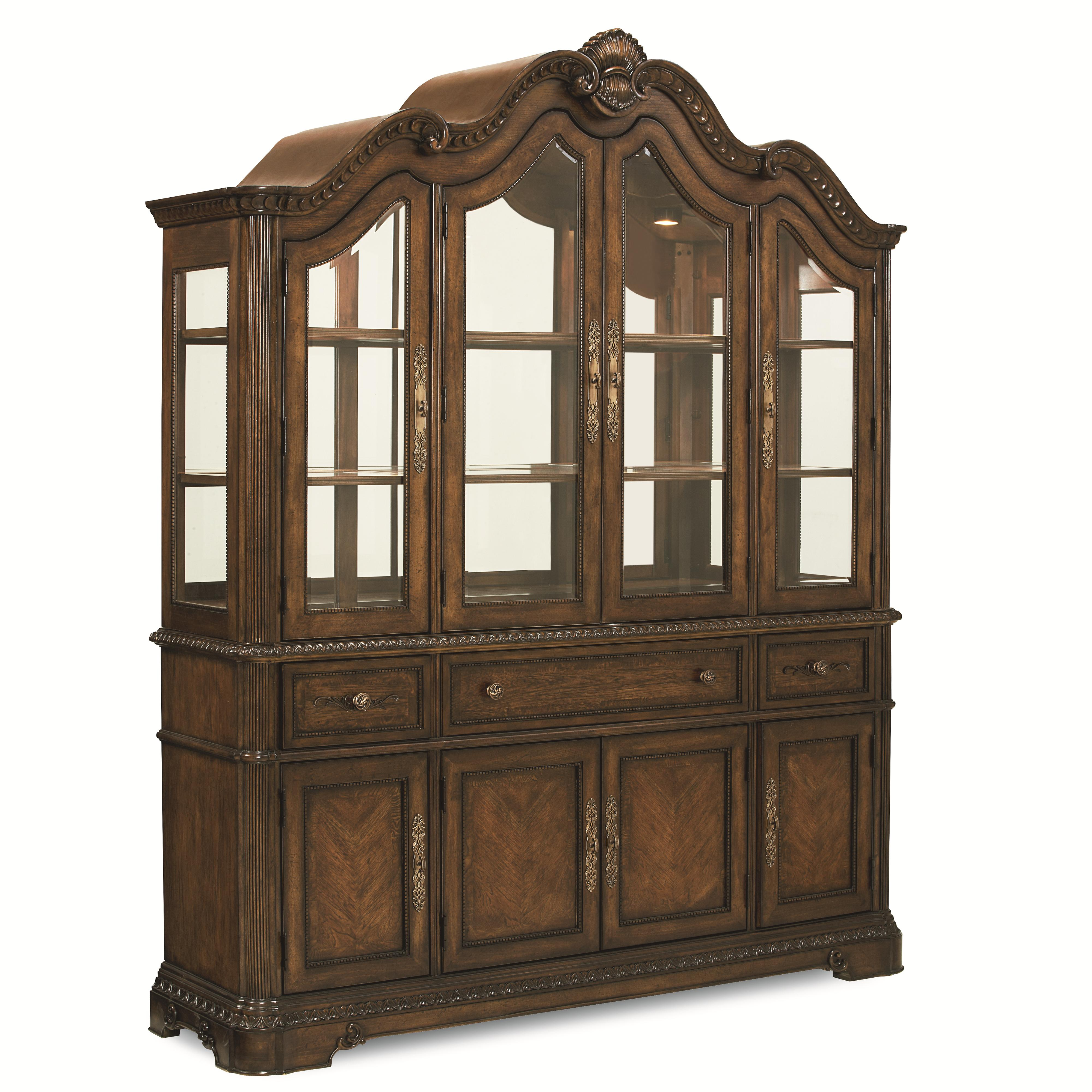 Legacy Classic Pemberleigh Dining Buffet with Hutch - Item Number: 3100-370+372