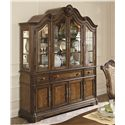 Legacy Classic Pemberleigh Buffet with Silver Tray and Four Doors - 3100-370 - Shown With Hutch