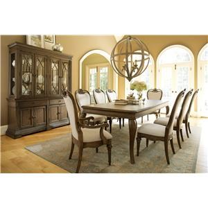Legacy Classic Renaissance 9 Piece Formal Dining Room Group