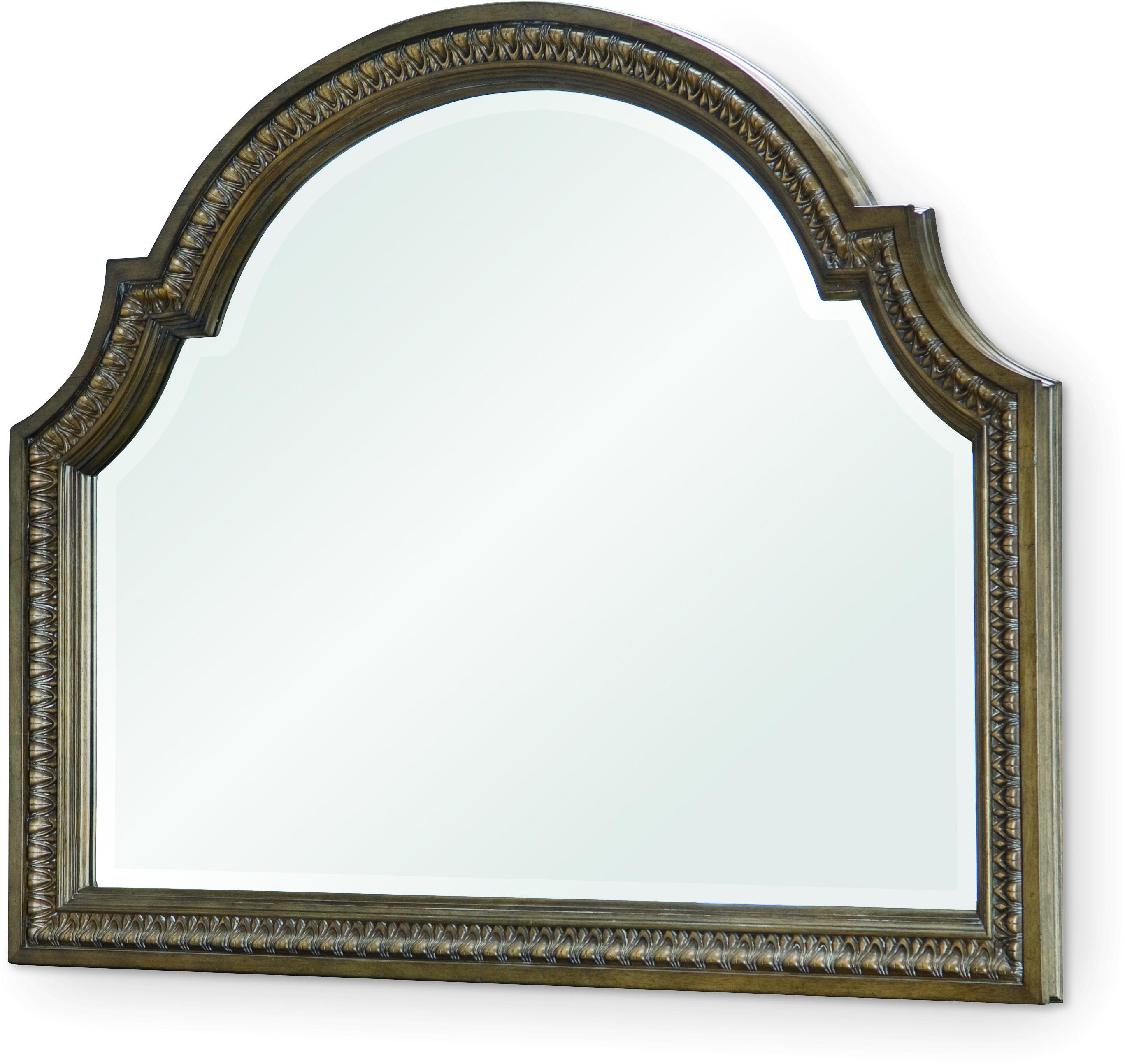 Legacy Classic Renaissance Arched Dresser Mirror  - Item Number: 5500-0200