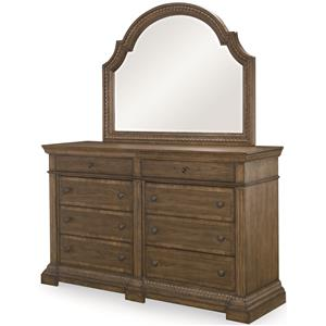 Legacy Classic Renaissance Dresser and Mirror Combo
