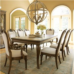 Legacy Classic Renaissance 9 Piece Table and Chair Set