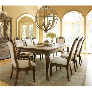 Legacy Classic Renaissance 7 Piece Table and Chair set