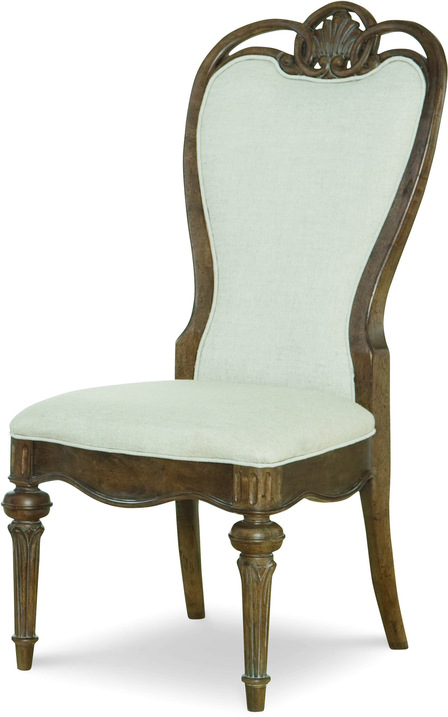Legacy Classic Renaissance Upholstered Back Side Chair  - Item Number: 5500-240 KD
