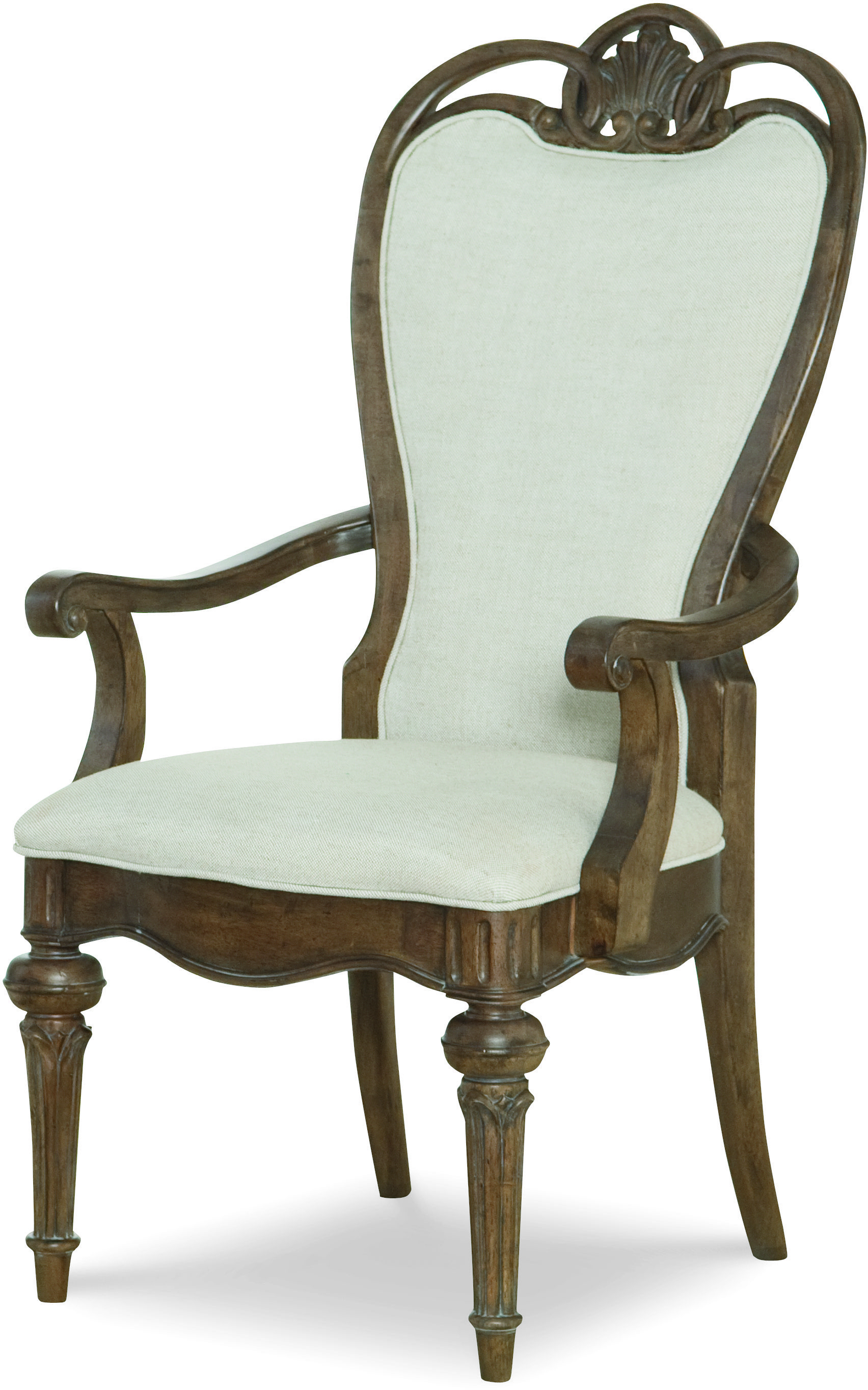 Legacy Classic Renaissance Upholstered Back Arm Chair  - Item Number: 5500-241 KD