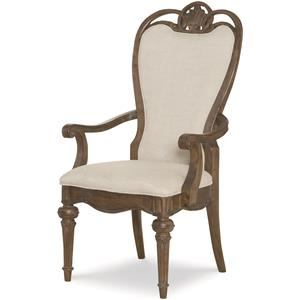 Legacy Classic Renaissance Upholstered Back Arm Chair