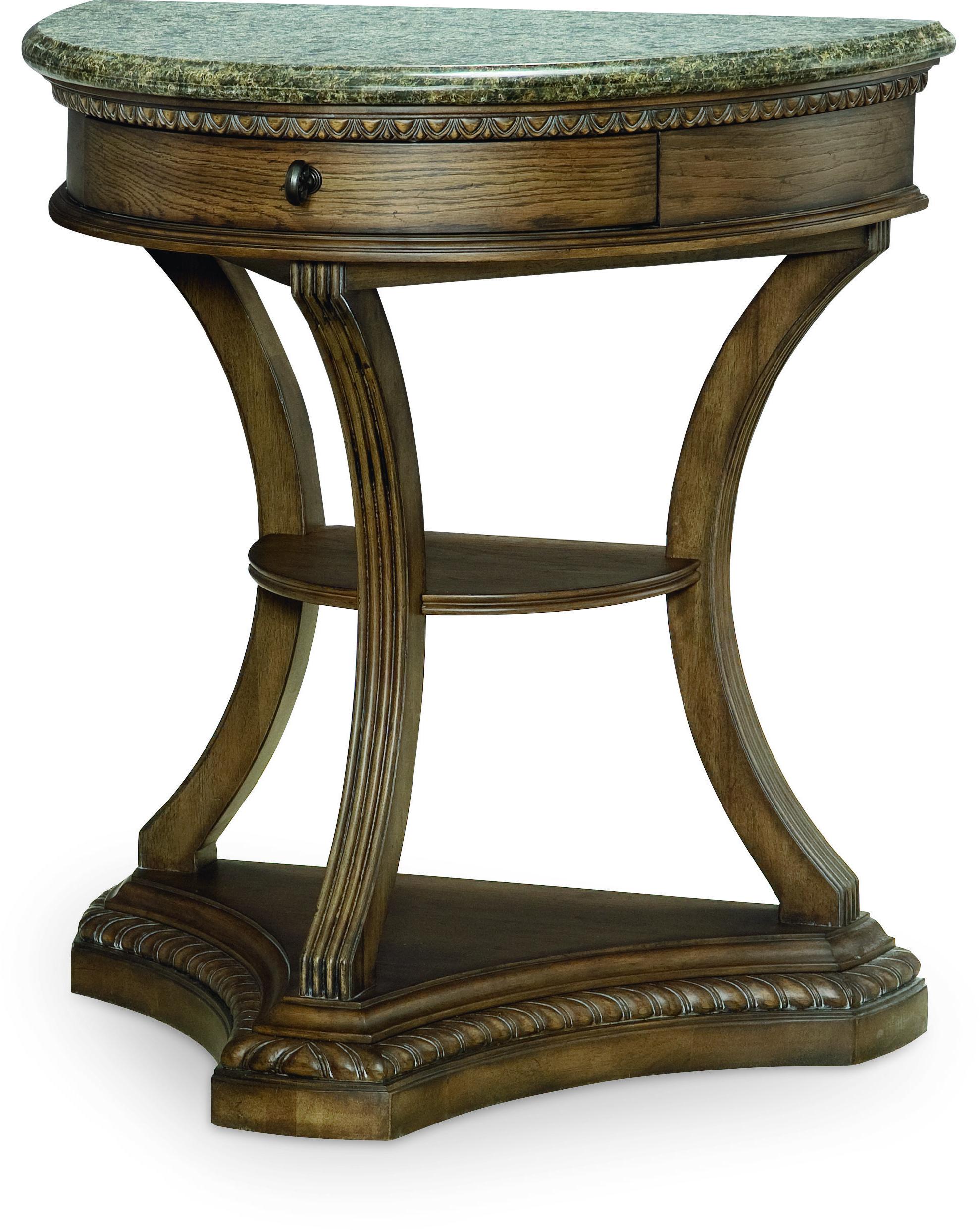Legacy Classic Renaissance Demilune Bedside Chest  - Item Number: 5500-3200
