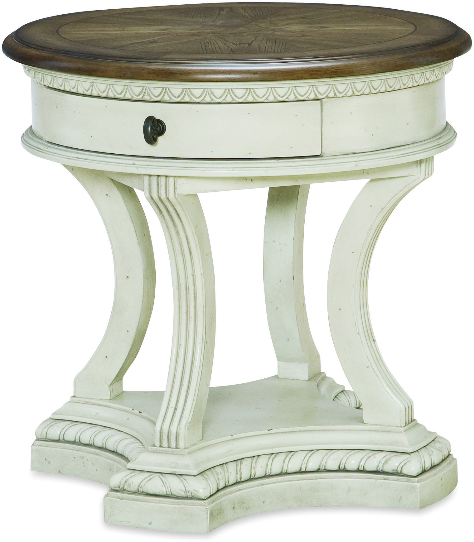 Legacy Classic Renaissance Round End Table  - Item Number: 5500-408