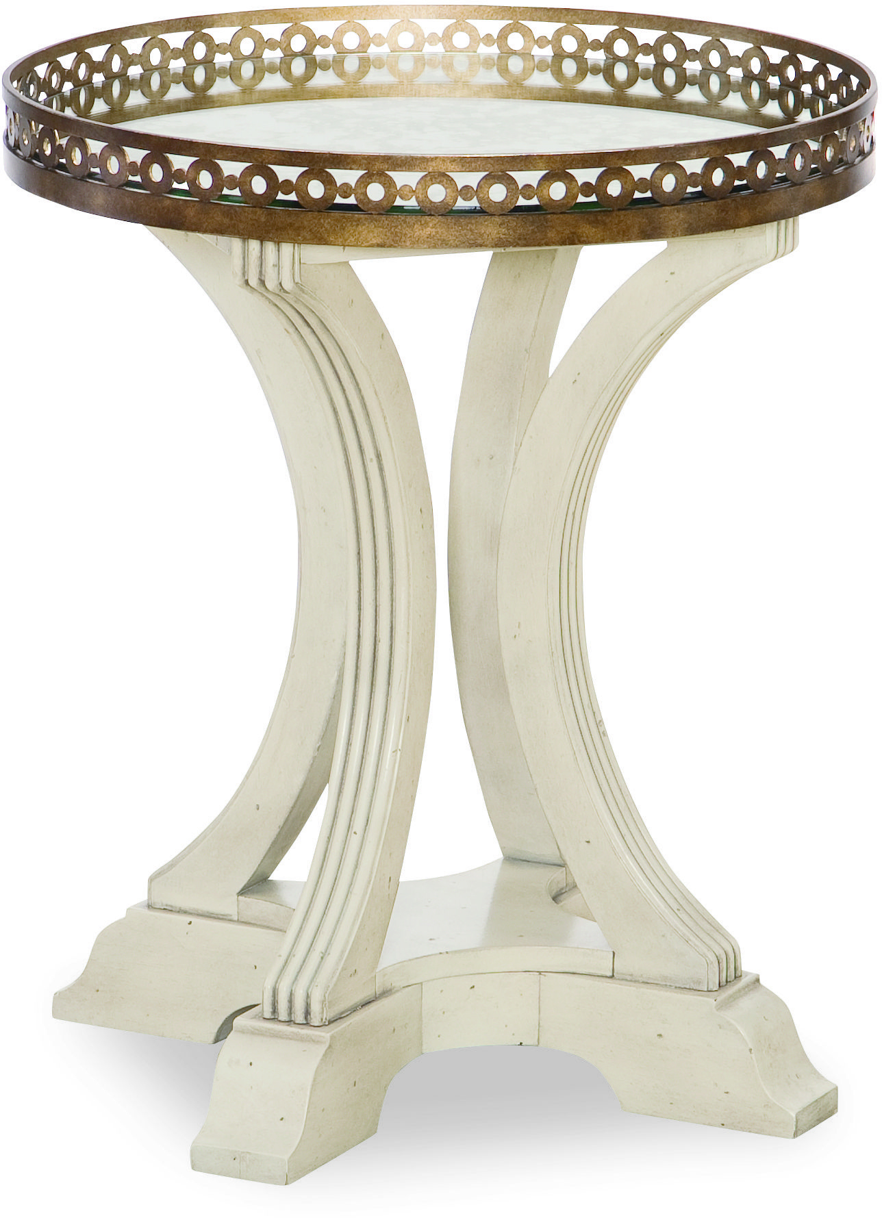 Legacy Classic Renaissance Gallery Round End Table  - Item Number: 5500-805