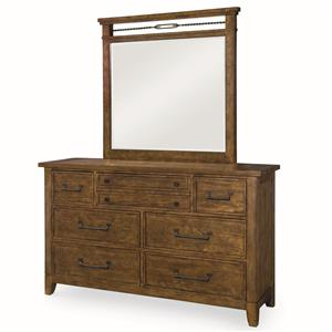 Legacy Classic River Run Dresser and Mirror Set