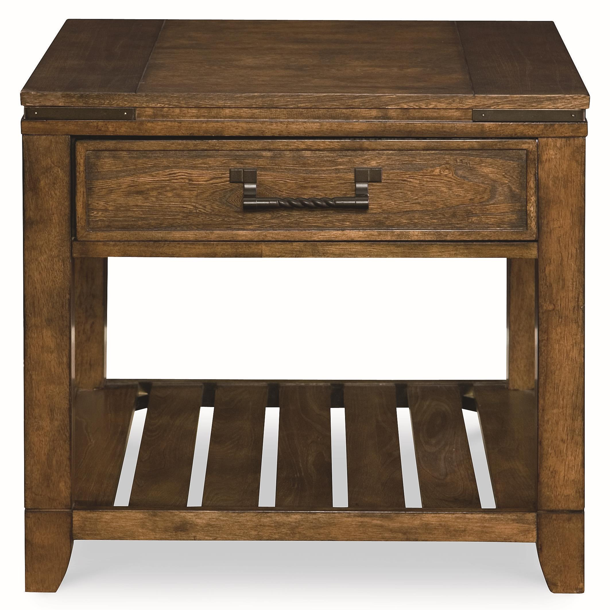 Legacy Classic River Run Rectangular End Table - Item Number: 4740-505