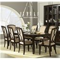 Legacy Classic Sophia 9 Piece Table and Chair Set with 2 14