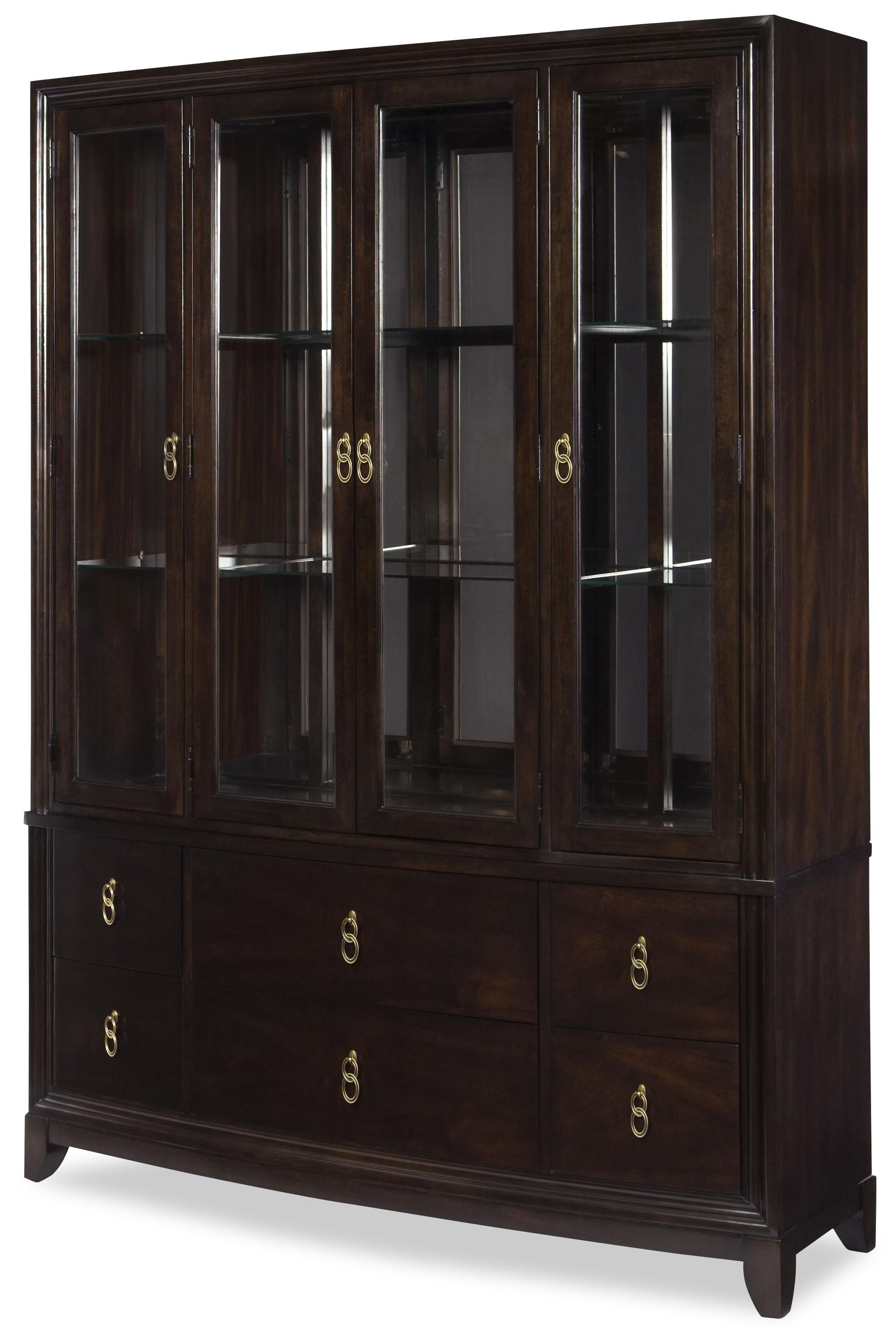 Legacy Classic Sophia Buffet and Hutch - Item Number: 4450-370+372