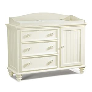 Legacy Classic Kids Summer Breeze Door Dresser with Baby Changing Station