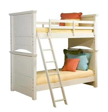 Legacy Classic Kids Summer Breeze Twin Bunk Bed - Item Number: 481-8110+8120+8130