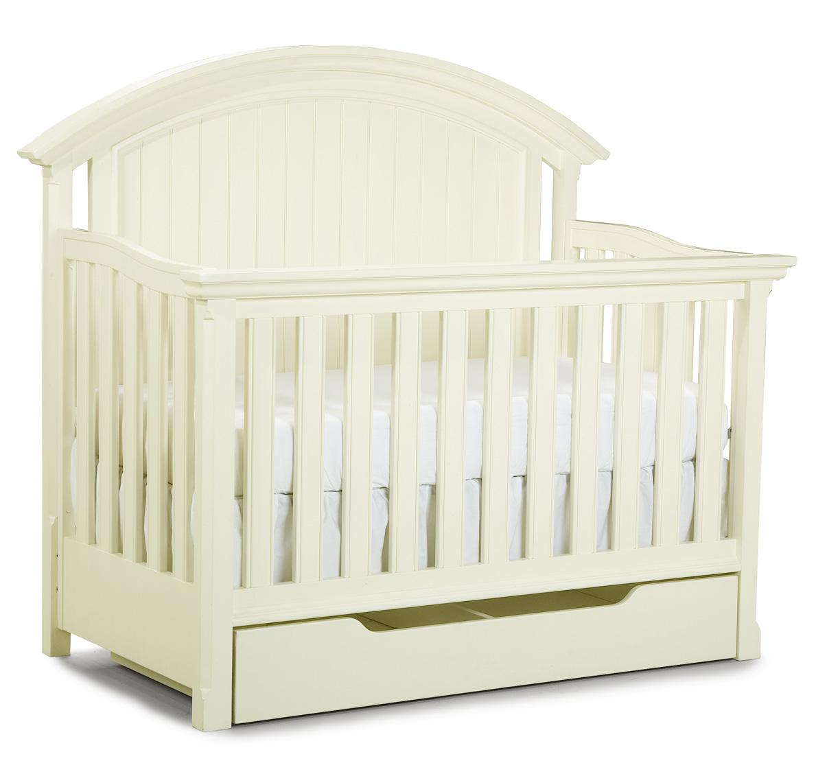 Legacy Classic Kids Summer Breeze Convertible Crib with Drawer - Item Number: 481-8900+8910