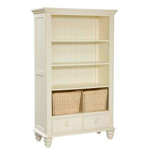 Legacy Classic Kids Summer Breeze Bookcase with 3 Shelves, 2 Storage Baskets and 2 Drawers