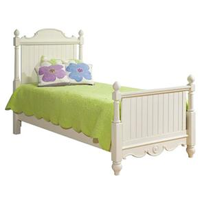 Legacy Classic Kids Summer Breeze Twin Scroll Top Low Poster Bed