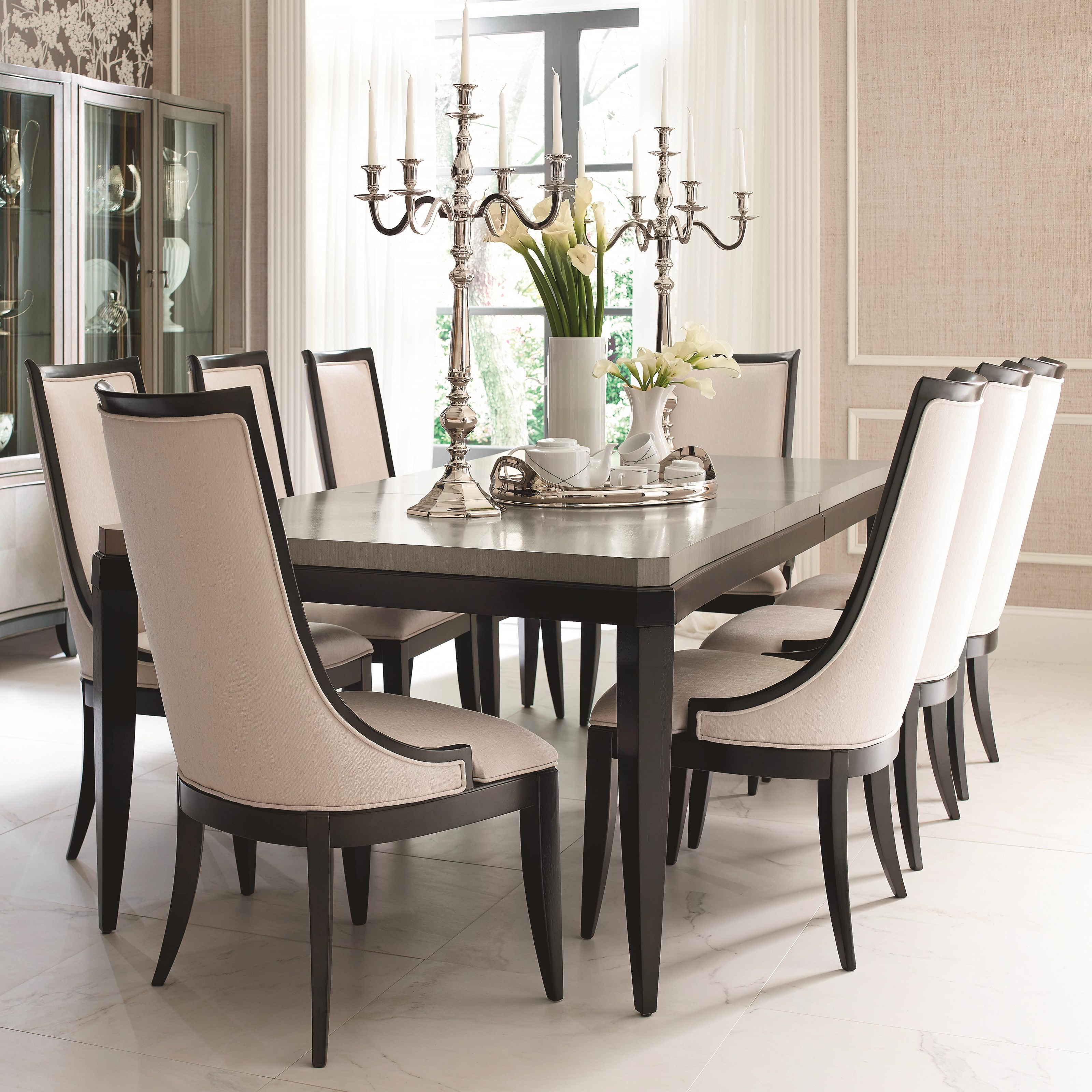 Symphony 9 Piece Rectangular Table Set By Legacy Classic At Belfort Furniture