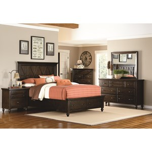 Legacy Classic Thatcher King Bedroom Group