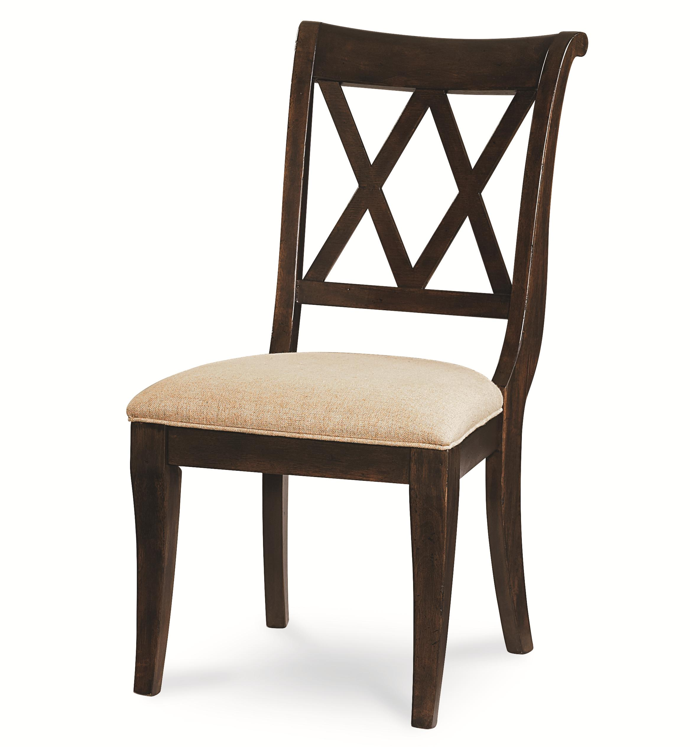 Legacy Classic Thatcher X Back Side Chair - Item Number: 3700-140 KD