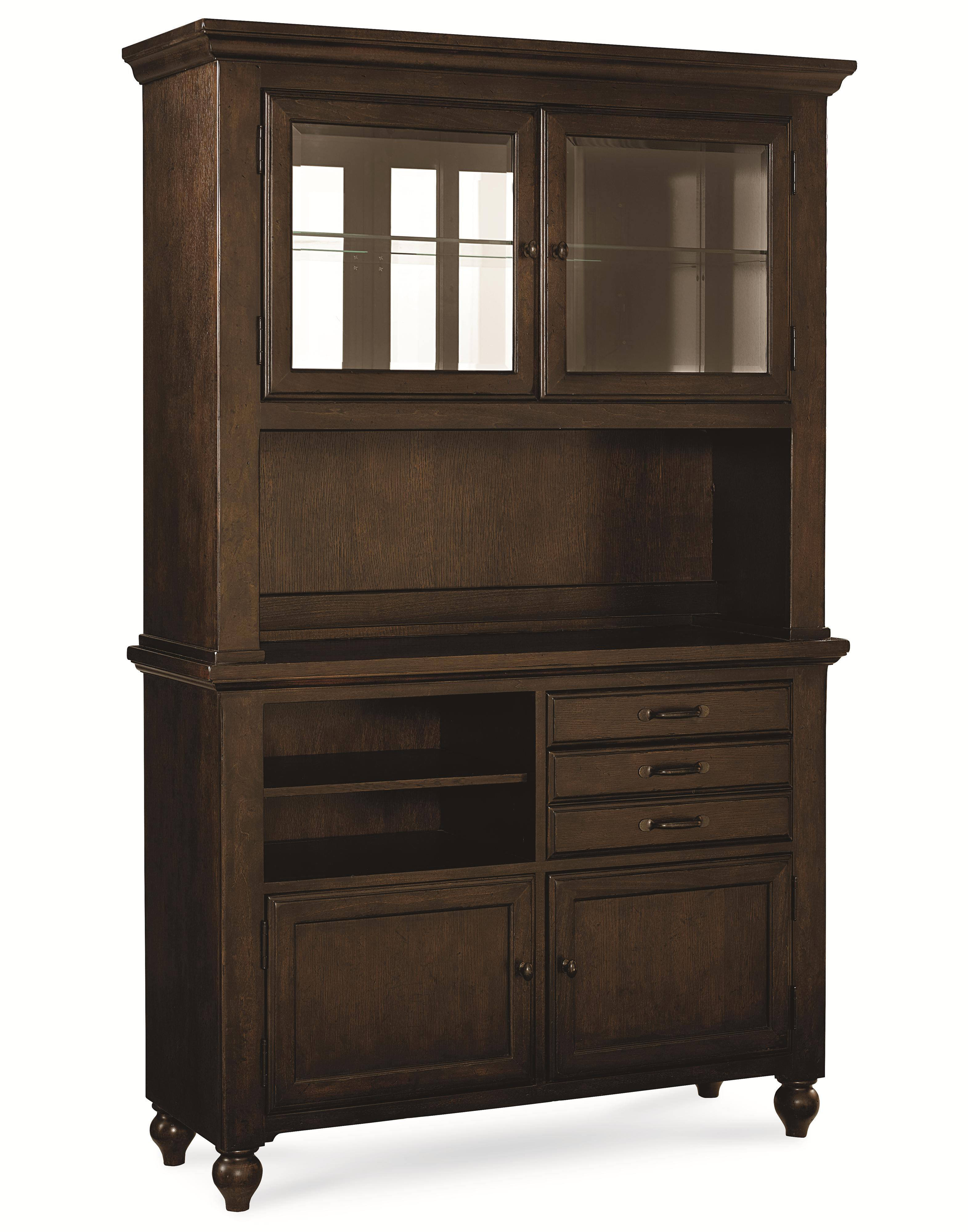 Legacy Classic Thatcher Complete Buffet and Hutch - Item Number: 3700-170+1