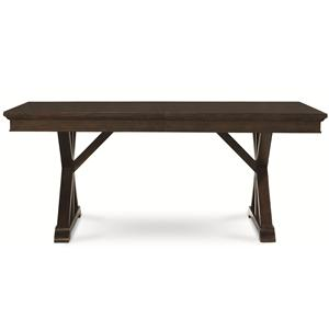 Thatcher Trestle Table with X Pedestals by Legacy Classic
