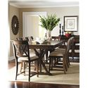 Legacy Classic Thatcher Pub Table with Trestle Shape - 3700-920K