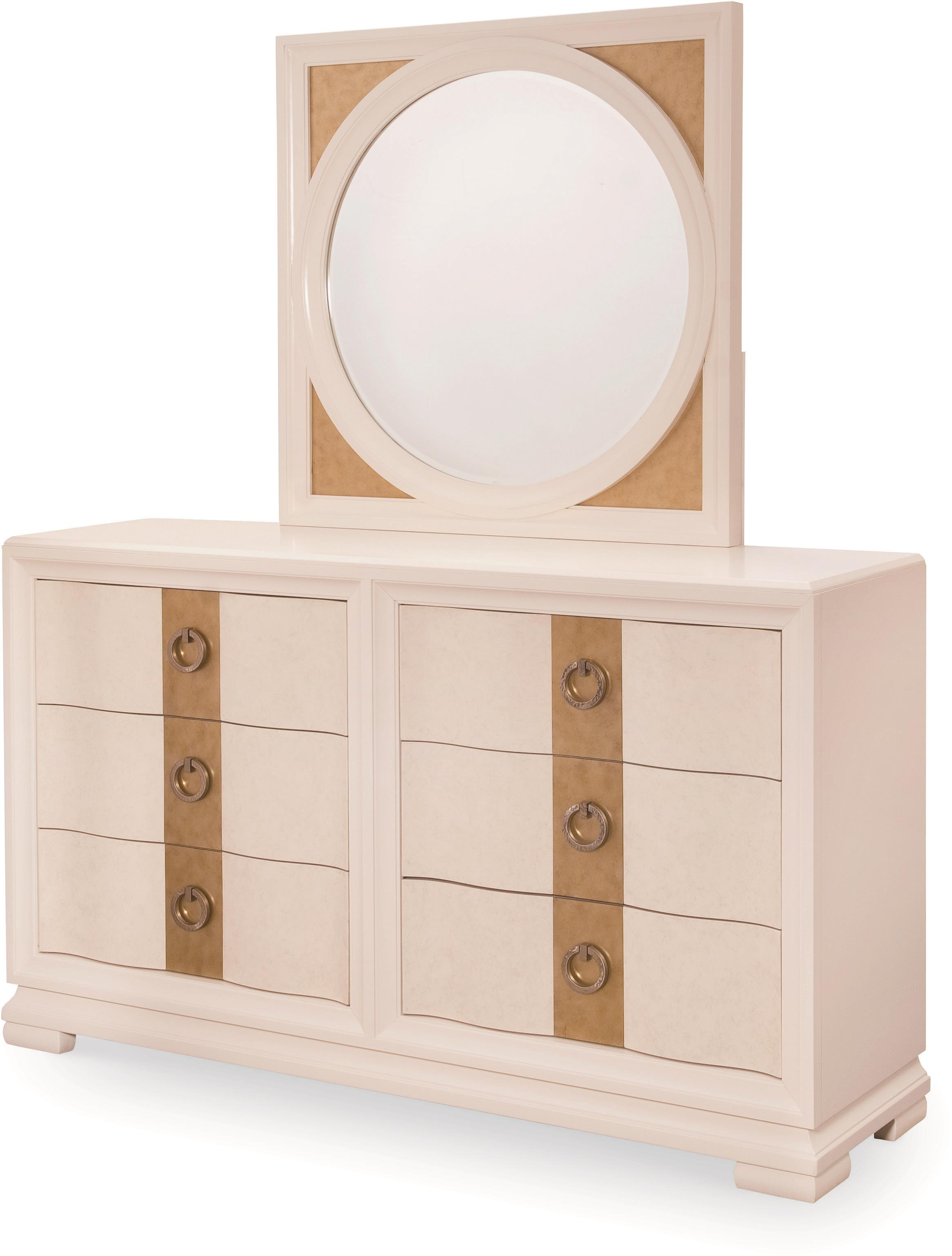 Legacy Classic Tower Suite Dresser and Mirror - Item Number: 5010-0200+1200
