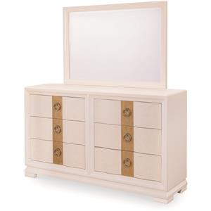 Legacy Classic Tower Suite Dresser and Landscape Mirror