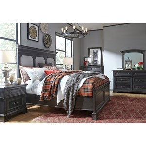 Townsend Queen Bedroom Group by Legacy Classic