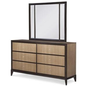 Legacy Classic Urban Rhythm Dresser and Mirror Set