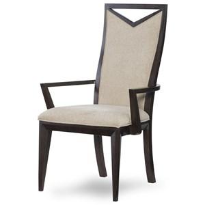 Legacy Classic Urban Rhythm Wood Back Arm Chair